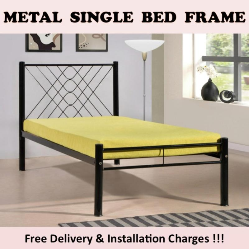 ABBI Single Bed with Pullout Bed + 2 Plywoods