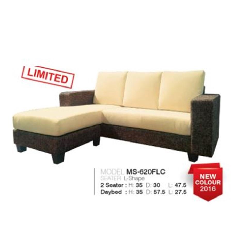 Alice Designer Fabric Sofa Model 620 (Cream)
