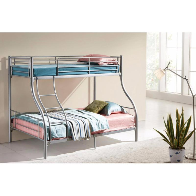 Amour Brand Metal Bunk bed / Double Decker bed (Single Size + Queen Size) 5 Years Warranty Free delivery and installation.Best Price in Lazada
