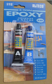 Harga Ante solid does not shrink AB glue to fill plastic T-type epoxyglue