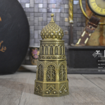 Antique European toothpick tube hand pressure top  automaticToothpick box fashion creative toothpick holder home  hotel decoration