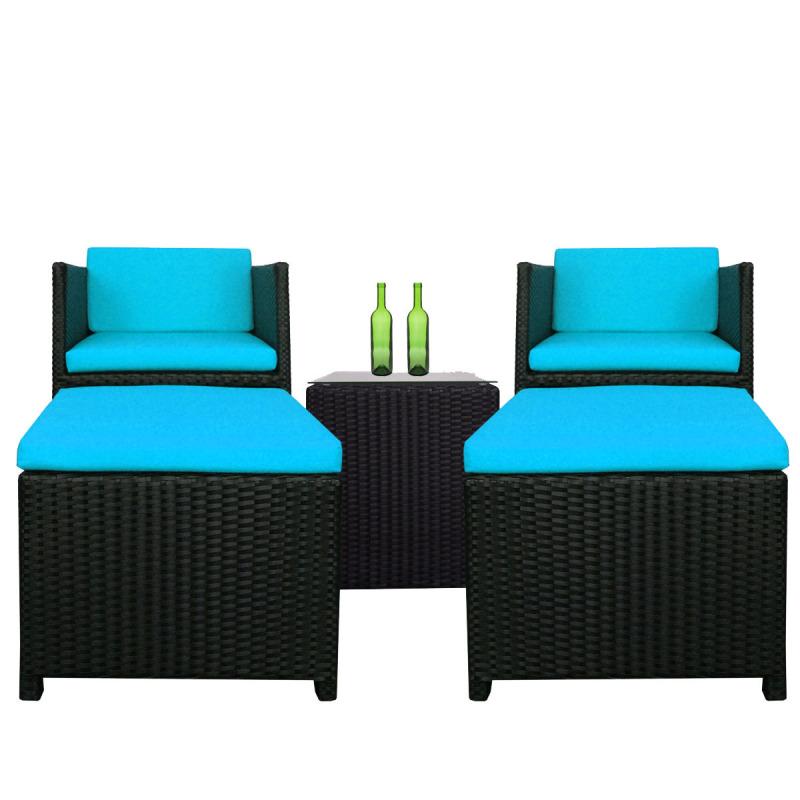 Arena Living Splendor Armchair Set Cushions - Blue
