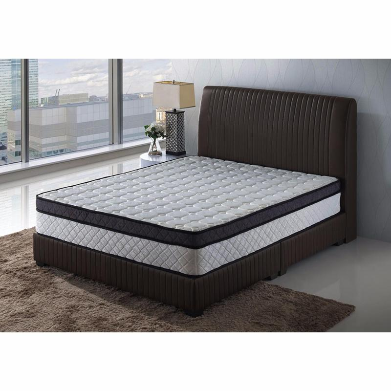 Ava Queen Size Bed Frame + 10 inch Spring Mattress (FREE DELIVERY)