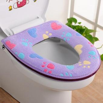 Bathroom Washable Toilet Seat Cover - intl