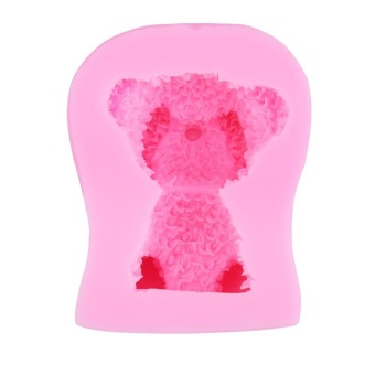 Bear Shape Cake Decor Cake 3D Silicone Mould - intl