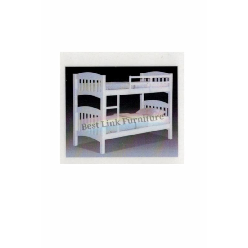 BEST LINK FURNITURE BLF 50 Double Decker Bed (Single/White)
