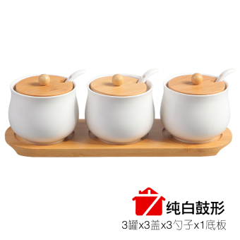Bottle seasoning containers ceramic seasoning box