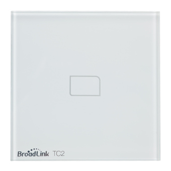 BroadLink TC2 1-CH Smart Home Wall Light Switch by IOS, Android