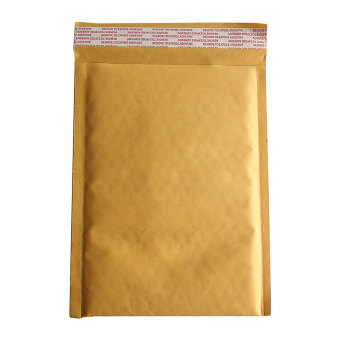 Buytra 10X 170*290+40mm Kraft Bubble Bag Padded Envelopes Mailers Shipping Yellow Bags