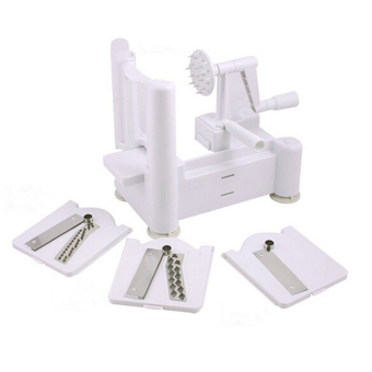 Buytra Spiral Vegetable Slicer Set (White)
