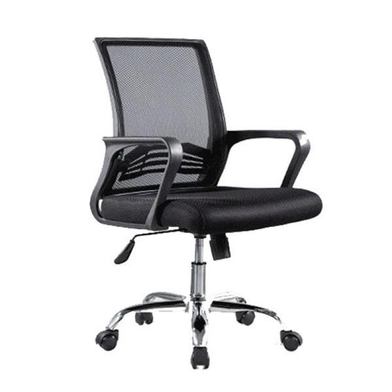 C20 Bently Office Chair (Black)(Installation Option Available) Singapore