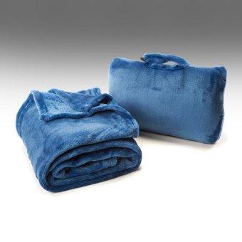 Cabeau Fold 'n Go Blanket and Case(TM) (Cabeau Blue) - 2