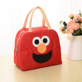 Harga Cartoon canvas lunch bag small bag lunch bag