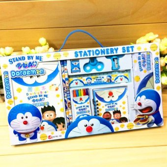 Harga Cartoon Gift for Kids Stationary Set (Doraemon)