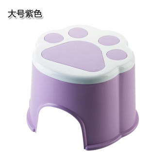 Cartoon plastic thick home stool small stool