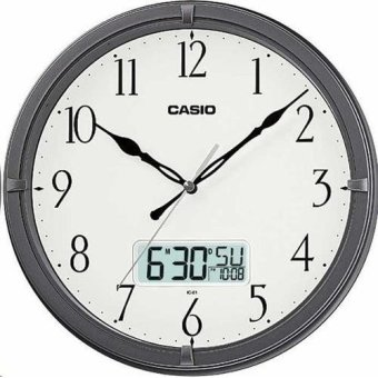 casio analog digital wall clock ic018d
