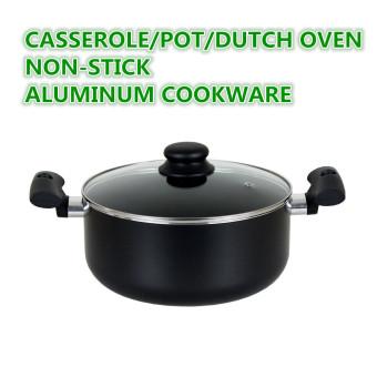 Casserole pot Dutch oven NON-STICK cookware Induction