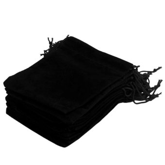 Harga CHEER 12*10cm 20pcs/Set Beautiful Velvet Gift Jewelry Storage Drawstring Pouch Bag - intl