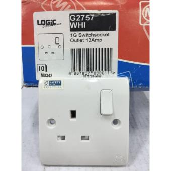 Classic MK 1 Gang 13A Switch Socket Outlet
