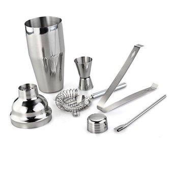 Cocktail 750ml Shaker Jigger Mixer Set 5 - 2