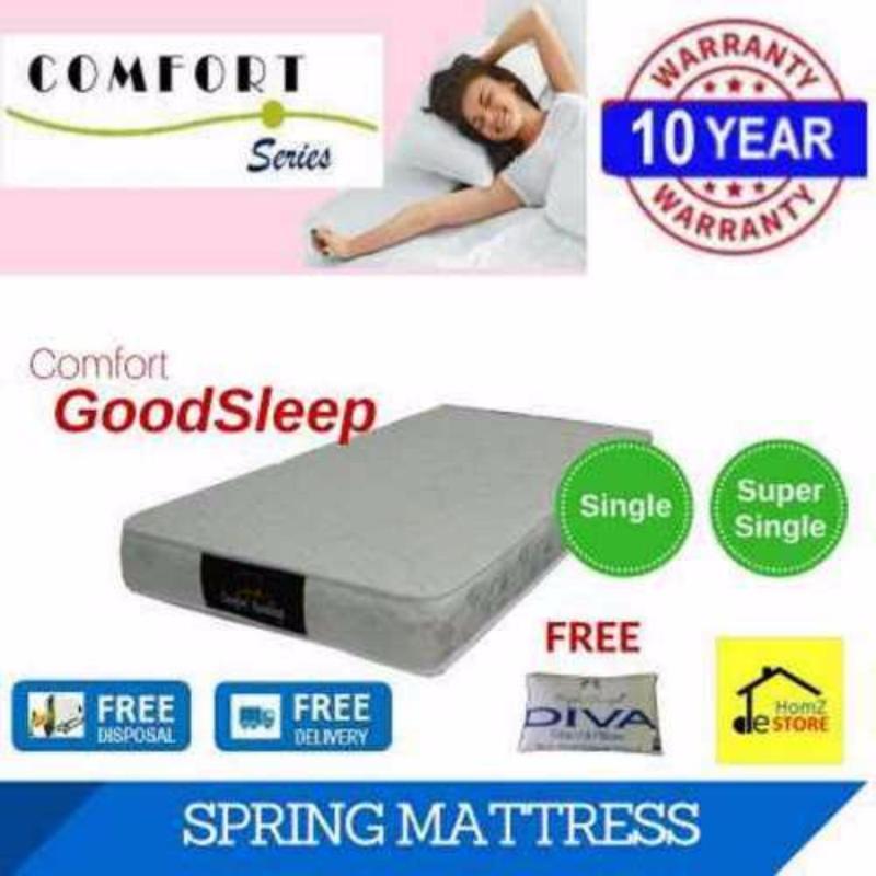 Comfort GoodSleep 6in Spring Mattress (Single)