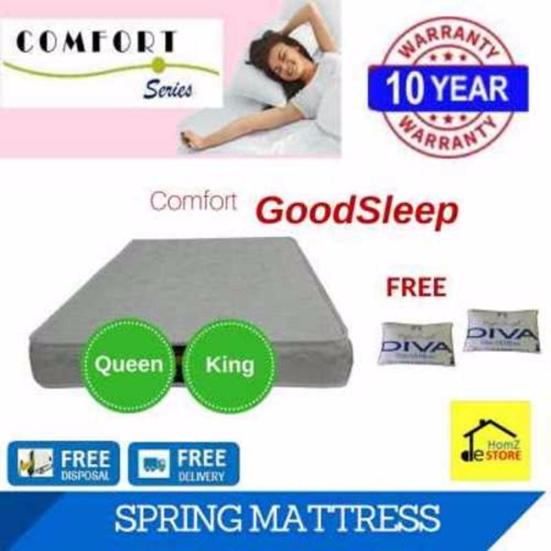 Comfort GoodSleep 8in Spring Mattress (Queen/King)