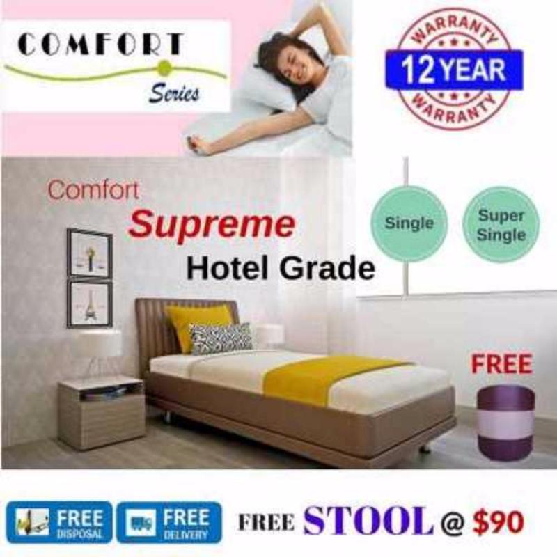 Comfort Supreme 8in Spring Mattress (Super Single)