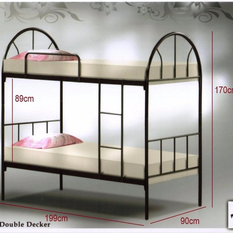 Contemporary Mintz Double Decker Bed(2 Persons)