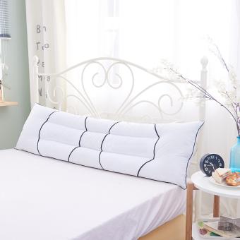 Cotton long Zhen Xin couple double pillow 1.2/1.5/1.8m M bed longhotel wedding pillow adult pillow - 2
