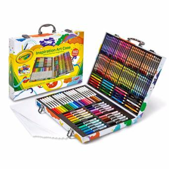 Crayola Art Case (140 Pieces of Crayons, Coloured Pencils, Markers& Paper)