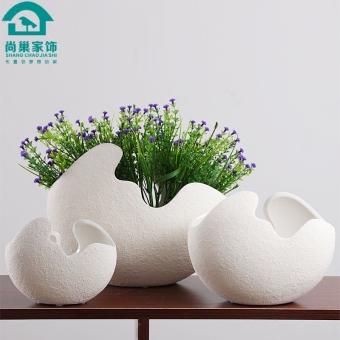Creative Ceramic Living Room TV Cabinet Flower Holder Home Decorations