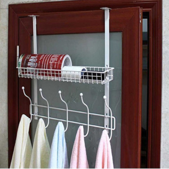 Best Buy Creative Iron Gate After Hookfree Nail Hook Strong Door - Creative clothes racks