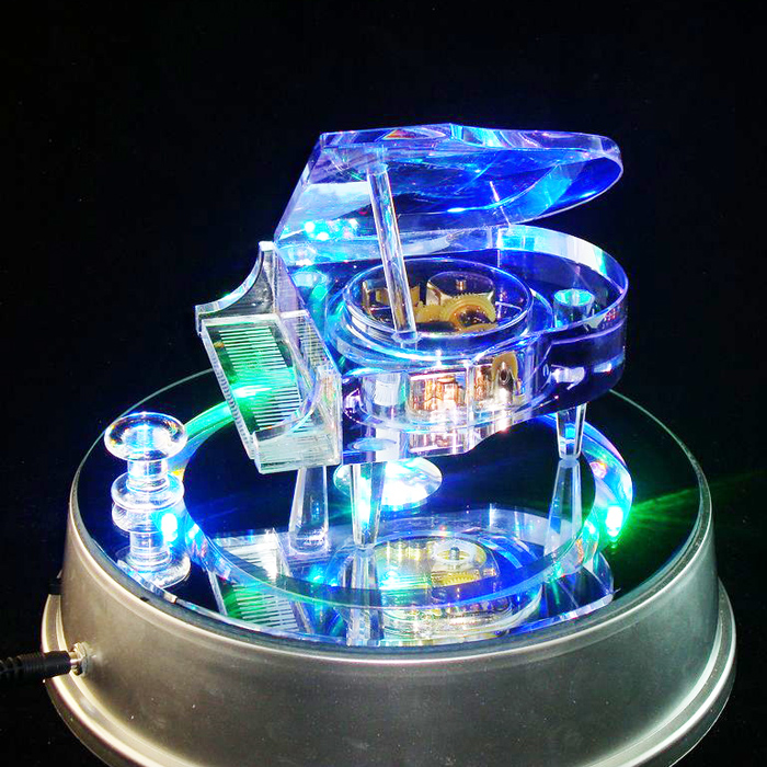 Creative Music Box A Perfect Gift For Female Friends Of Birthday Girls MP3 Crystal Piano