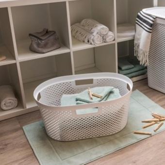 Harga Curver Infinity Laundry Basket Dots 40L