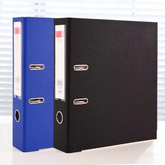 Deli A4 office two hole file storgage clip fast labor folder