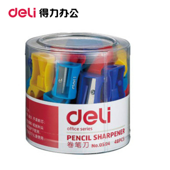 Deli Stationery Office Supplies 0594 volume pen knife hand pencilsharpener pencil sharpeners pencil pen is volume pen device minipencil pen Machine