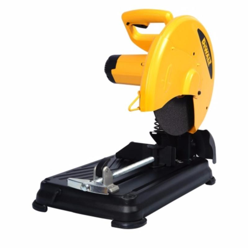 DeWalt Chopsaw 2,200W Power 355mm Wheel Diameter Quick-Lock allows for fast clamping on different size materials