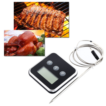 Digital Cooking Probe Food Timer Kitchen Oven Grills MeatThermometer Timers