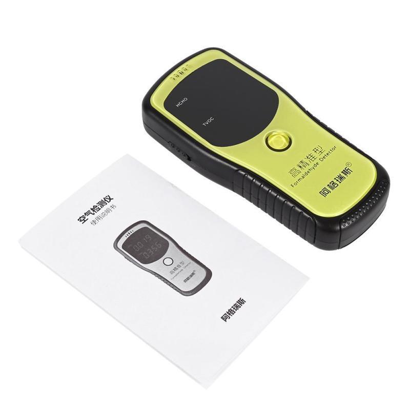 Digital Formaldehyde Detector Air Quality Tester Analyzers - intl