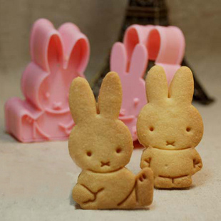 DIY three-dimensional Miffy rabbit sets of baking cookie mold