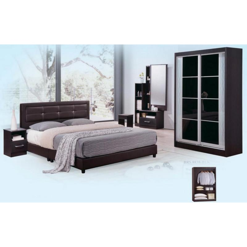 Dominiq 8838-WG Bedroom Set (FREE DELIVERY) (FREE ASSEMBLY)