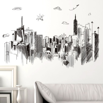 Dormitory wall decorative self-adhesive wallpaper sofa backdrop