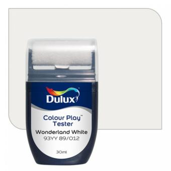 Dulux Colour Play Tester Wonderland White 93YY 89/012