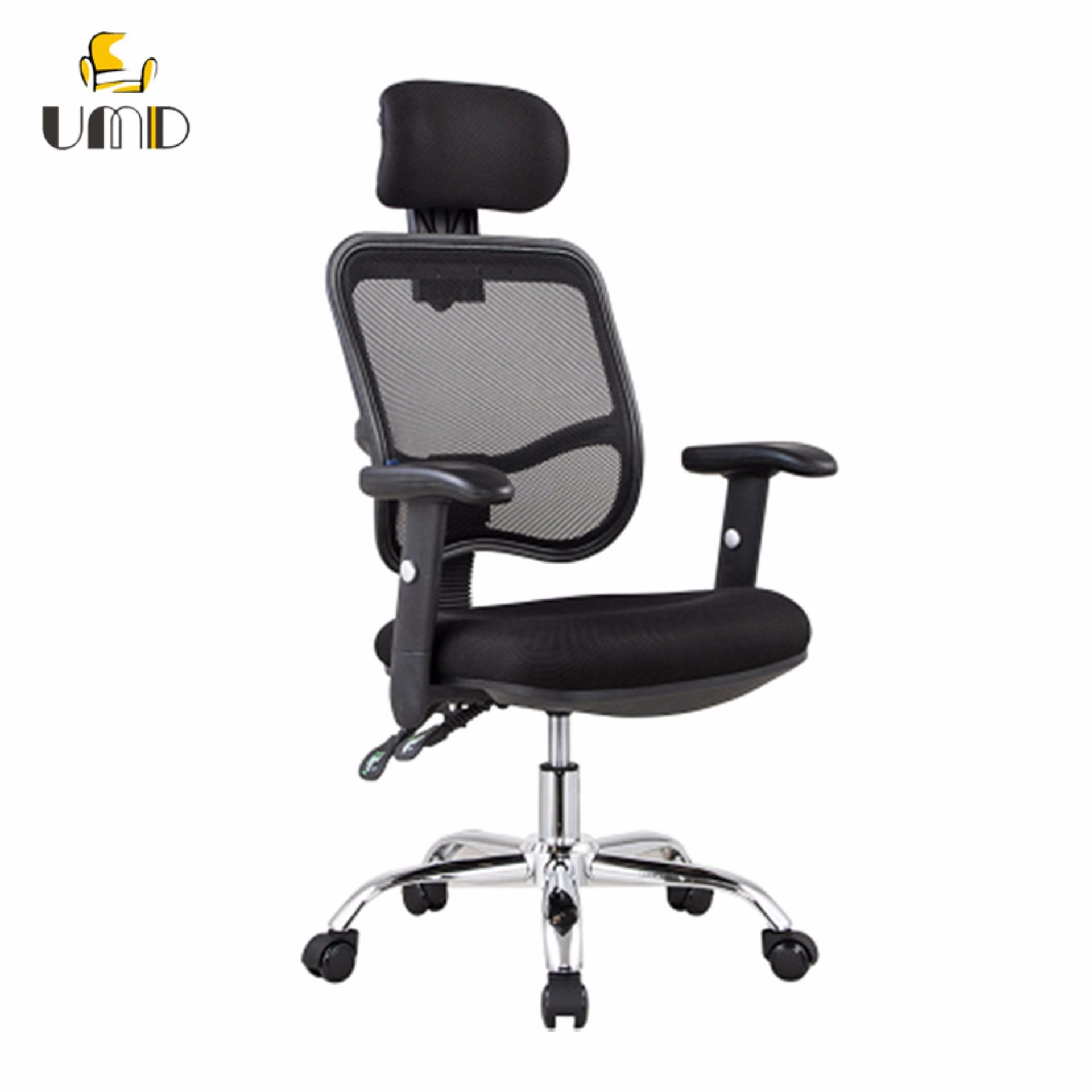 Ergonomic mesh office chair with steel base   Lazada Singapore