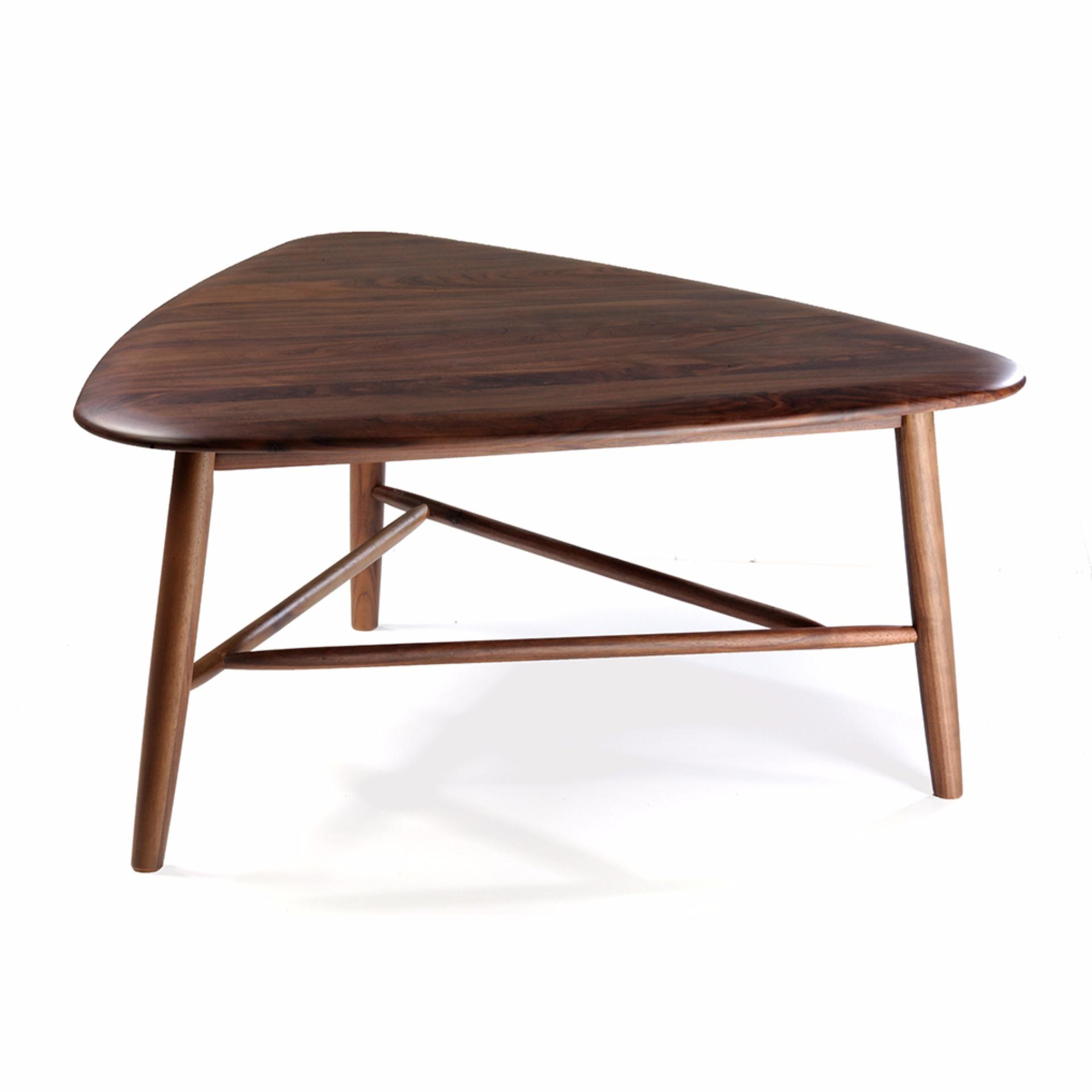 Triangle Coffee Table Wood.Estelle Triangle Coffee Table Singapore