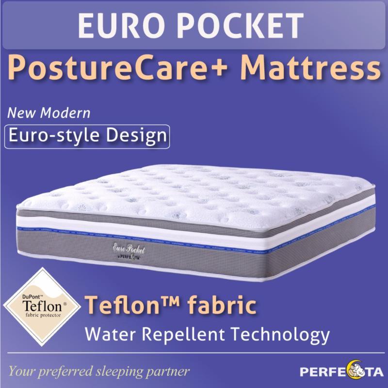 Euro Pocket PostureCare Plus Mattress * Individual Pocketed Spring * King size