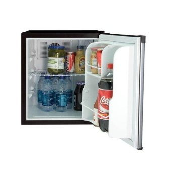 EuropAce ER 9250 50 litres Bar Fridge, DUO Thermo Semi conductor & Fans VCM Door Silver - 2