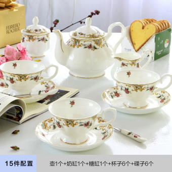 European tea coffee cup suit British afternoon tea cup and saucerset ceramic American coffee