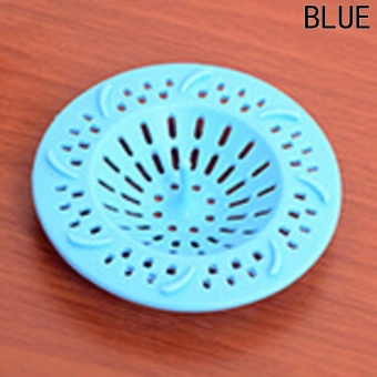 Fancyqube Silicone Filter Round Sink Shower Cover Trap Basin Home Living Floor Drain Hair Stopper Hair