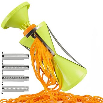 Fantasy 4-Blade Vegetable Spiral Slicer (Export)